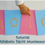 Tutorial: Alfabeto táctil (incluye imprimible) – DIY: Touch & Feel alphabet (printable included)