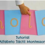 Tutorial: Alfabeto táctil (incluye imprimible) – DIY: Touch & Feel alphabet (printable included)